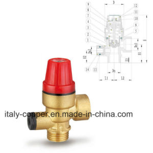 CE Certified Brass Safety Air Vent Ball Valve (IC-3060) pictures & photos