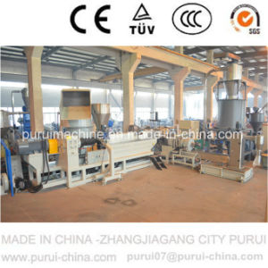 Waste Agricultural Film Plastic Pelletizer with Agglomerator pictures & photos