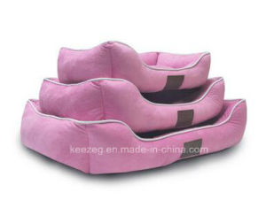 Three Piece Suit Suede Fabric Pet Dog Bed/Cat Bed, Cushions (KA00108) pictures & photos