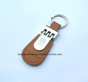 High Quality Customized Promotion Leather Key Chain BPS0173