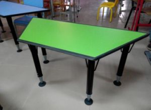 Activity Table Study Trapezoid Table pictures & photos