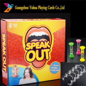 Customized Speak out Board Game Factory Yh106 pictures & photos