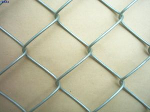 Hot Dipped Galvanized Diamond Wire Mesh Used Chain Link Fence pictures & photos