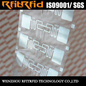 UHF Waterproof Heat Resistant RFID Stickers for Tobacco