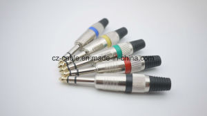 6.35mm Stereo Plug with Gold Plated Tip pictures & photos