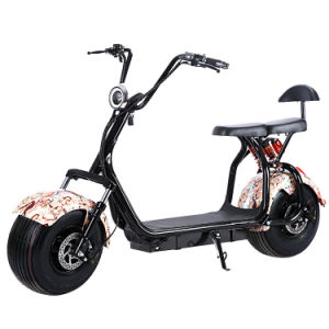 2 Wheels Mobility Scooter for Adults with 1000W 60V/30ah pictures & photos