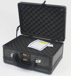 Professional Aluminum Double-Sided Opening Pistol Gun Case pictures & photos
