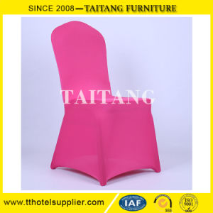 Guangzhou Banquet Hall Polyester Luxury Event Chair Back Cover pictures & photos