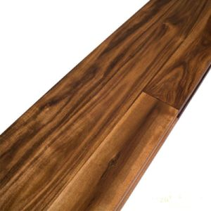Prefinished Solid Acacia Wood Flooring pictures & photos