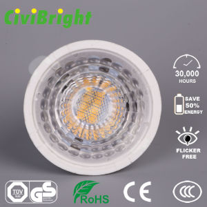 GU10 LED Bulb 7W Dimmable PMMA Lens LED Lamp Spotlight pictures & photos