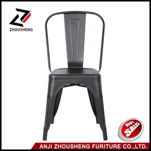 2016 Hot Sale Cafe Furniture Wholesale Bar Stool Vintage with Back Rest pictures & photos