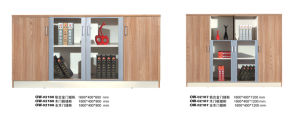 Simple Living Room Home Office Oak Wooden Bookcase pictures & photos
