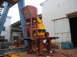 Symons Compound Hydraulic Cone Crusher Minyu Type pictures & photos