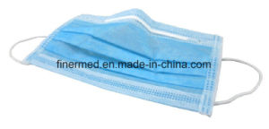 Disposable Medical 3 Ply Non Woven Surgical Dust Face Mask pictures & photos