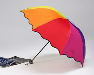 Hot Sale Folding Rainbow Umbrella pictures & photos