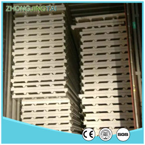 Insulated Galvanized Panel Prices Light Steel Color Corrugated Sandwich Panel pictures & photos