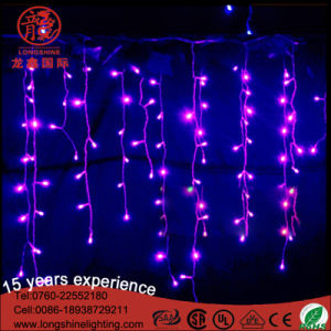 Outdoor LED Decoration Icicle/Curtain Christmas Light for Holiday Ce RoHS pictures & photos