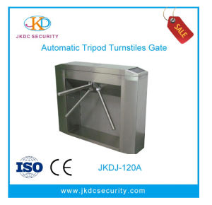 Semi-Automatic Card Reader Stainless Steel Tripod Turnstile pictures & photos