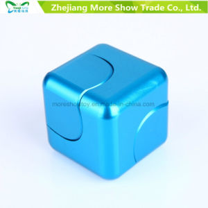 Metal Alloy Cube Dice EDC Fidget Hand Finger Spinner Fingertips Gyro Toys pictures & photos