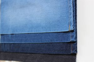 100% Cotton Warp Slub Indigo Denim pictures & photos