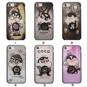 Wholesale Cartoon Phone Case with Finger Ring Holder for iPhone 7/7 Plus pictures & photos