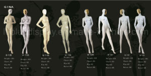 ODM Fashion Female Mannequins with Mask