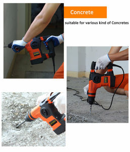 900W Professional Rmulti-Function Rotary Hammer for Chiseling (KD68) pictures & photos