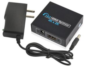 HDMI Splitter 1X2 up to 4k*2k High Resolution pictures & photos