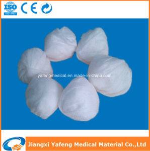 X-ray Detectable Cotton Gauze Ball for Surgical pictures & photos