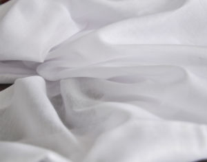 Super Thin High Twist 100% Polyester 80s*80s 80*56 Desity Voile Fabric pictures & photos