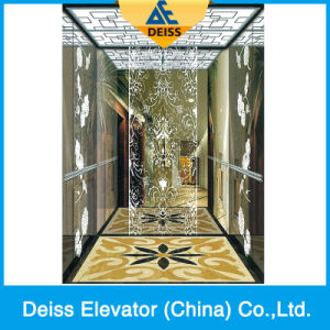 Vvvf Mini-Machine Room Residential Passenger Home Elevator with Opposite Door pictures & photos