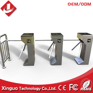 High Quality Card Reader Automatic Tripod Turnstile for Building / Swing Poor pictures & photos