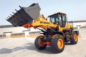 Chinese Brand Ensign Construction Machinery Front Wheel Loader Model Yx636 pictures & photos