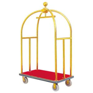 Hotel Luggage Trolley Cart with Red Carpet pictures & photos