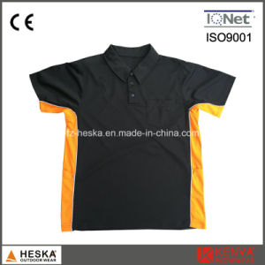 Mens Cooldry Work Polyester Polo Shirt pictures & photos
