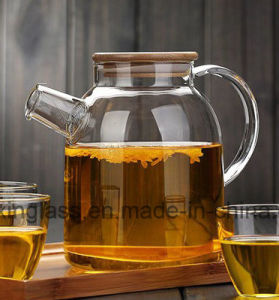 1L 1.8L Borosilicate Glassware/Cold Brew Tea Maker/Cold Water Pitcher Pot Jug/Fruit Juice Pot of Cold Water Jar pictures & photos