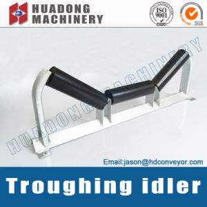 High Quality Rubber Coated Impact Conveyor Idler Roller pictures & photos