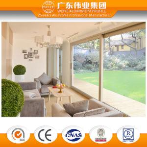 High Quality Double Tempered Glass Thermal Break Aluminum/Aluminium/Aluminio Sliding Door pictures & photos