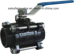 1000wog 3PC Type Ball Valve with Internal Thread (WCB) pictures & photos