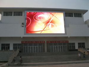 Outdoor Full Color Video LED Display Screen P6 Outdoor LED Die Casting Aluminum pictures & photos