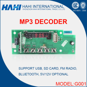 Original MP5 Electronic Decoder Integrate Circuit Board-G001 pictures & photos