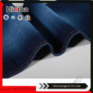 16s Twill Tr Denim Fabric, Dark Blue Color pictures & photos