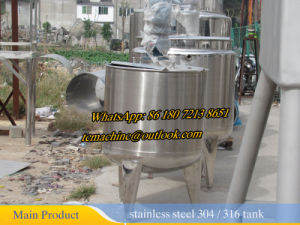 High Shear Mixing Tank Homogenizer Mixing Tank pictures & photos