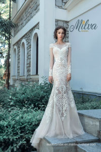 Lace Bridal Gowns Mermaid Long Sleeves Wedding Dresses W176286 pictures & photos