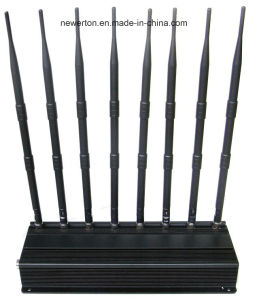 2g 3G 4G Signal Blocker 8 Bands Cellular Phone Jammer 5.2g 5.8g 2.4G WiFi Jammer pictures & photos