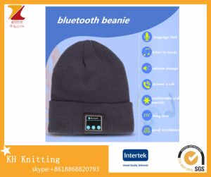 Wholesale Winter New Knit Wireless Bluetooth Hat pictures & photos