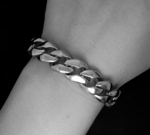 Classic Punk Men Link Bracelets 316L Stainless Steel Jewelry Distortion Free pictures & photos