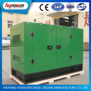 15kw / 18.5kVA Low Noise Soundproof Diesel Generator with Smartgen 6110 pictures & photos