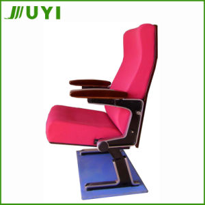 Jy-606m Wooden Armrest Lecture Theatre Chair Function Hall School Chairs pictures & photos