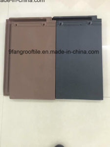 New Design Roof Tile 290*450mm Building Meterail Terracotta Flat Roof Tile Factory Supplier -Guangdong pictures & photos